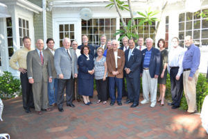 Past presidents of the Lee County Bar Association.