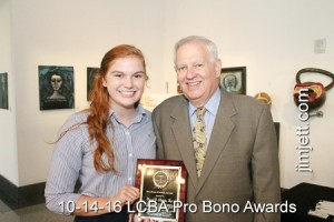 10-14-16 LCBA Pro Bono Awards Luncheon